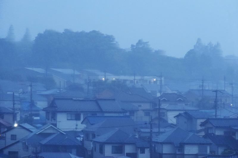 台風による屋根への脅威